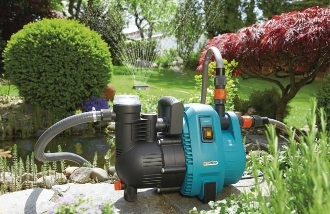 Разновидности садовых насосов для полива: технические характеристики