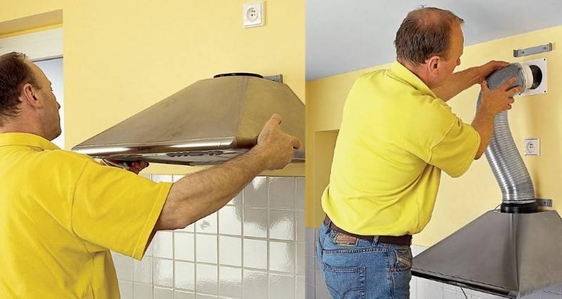 Как установить вытяжку на кухне своими руками: пошаговая видео инструкция | советы специалистов
