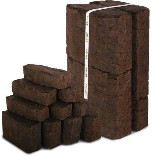 Брикеты для отопления, торфяные, угольные, древесные