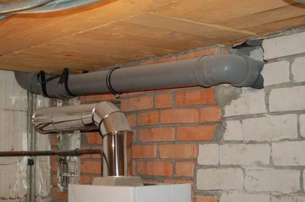 Самостоятельное оборудование вентиляции в частном доме из канализационных труб