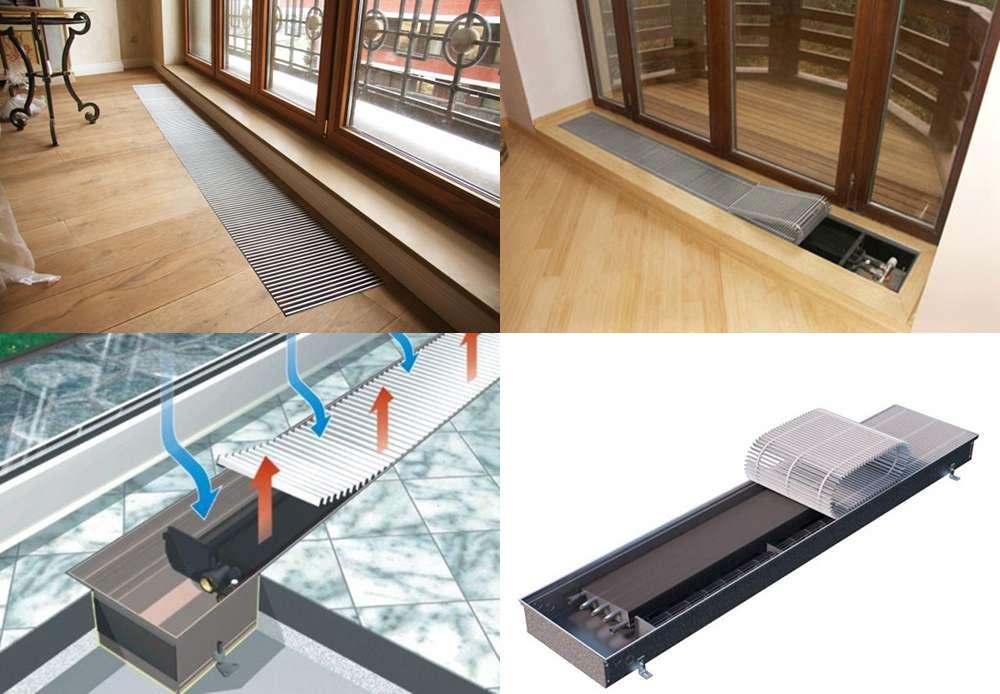 Теплый плинтус – универсальная экономная система отопления для любого помещения