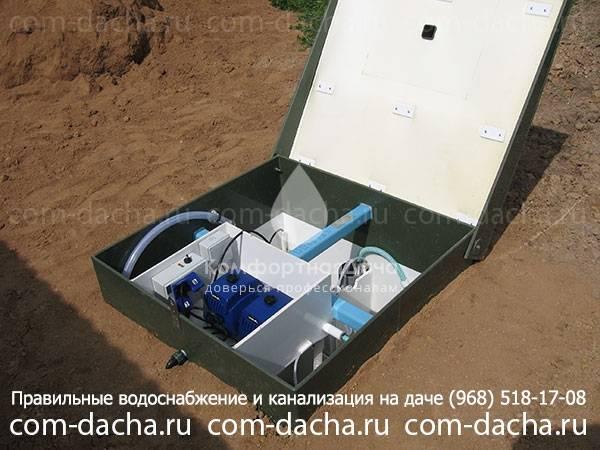 Монтаж водопровода на даче, выбор источника и схемы подключения