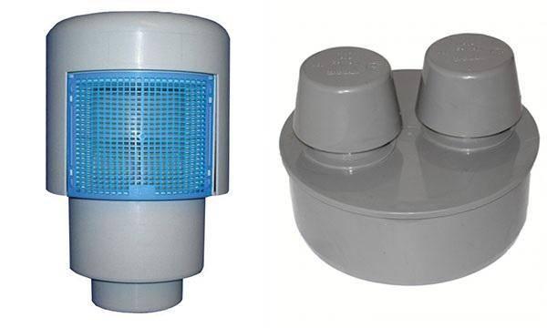 Вакуумный клапан для канализации - принцип работы и виды