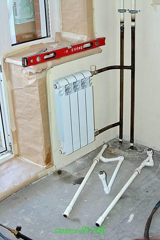 Отопление полипропиленовыми трубами своими руками - система отопления