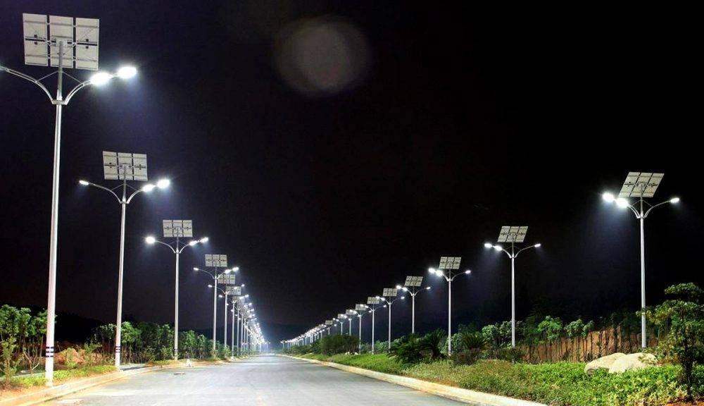 Светильники на солнечных батареях. виды. устройство и работа
