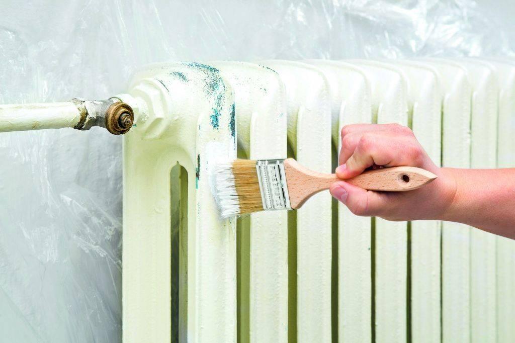Как покрасить чугунную батарею отопления?