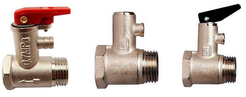 Предохранительный клапан для отопления: принцип работы и схема установки