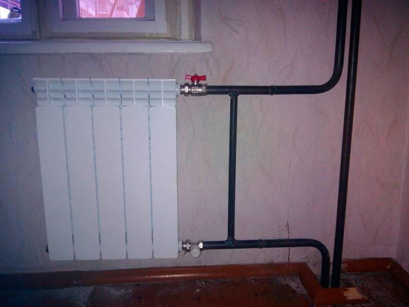 Правильная установка батарей отопления в квартире