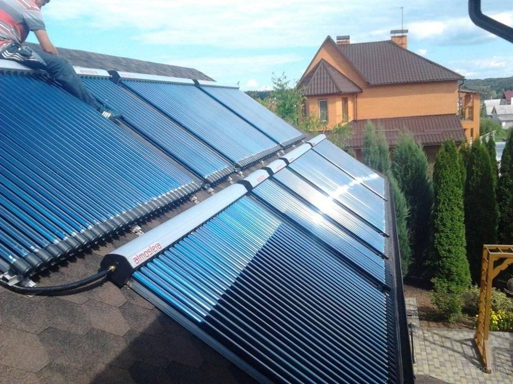 Солнечные системы отопления для частных домов или дач - как устроены и работают