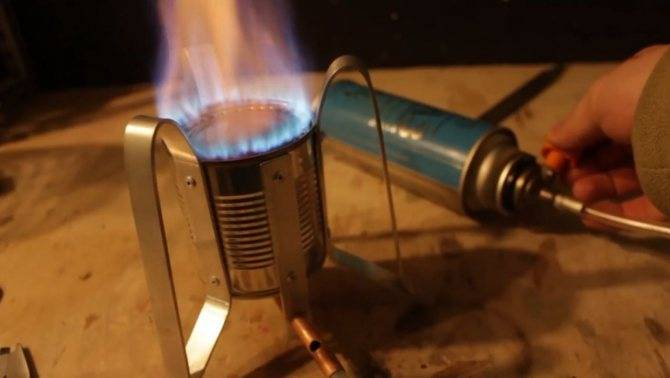 Газовая горелка своими руками — делаем из подручных материалов