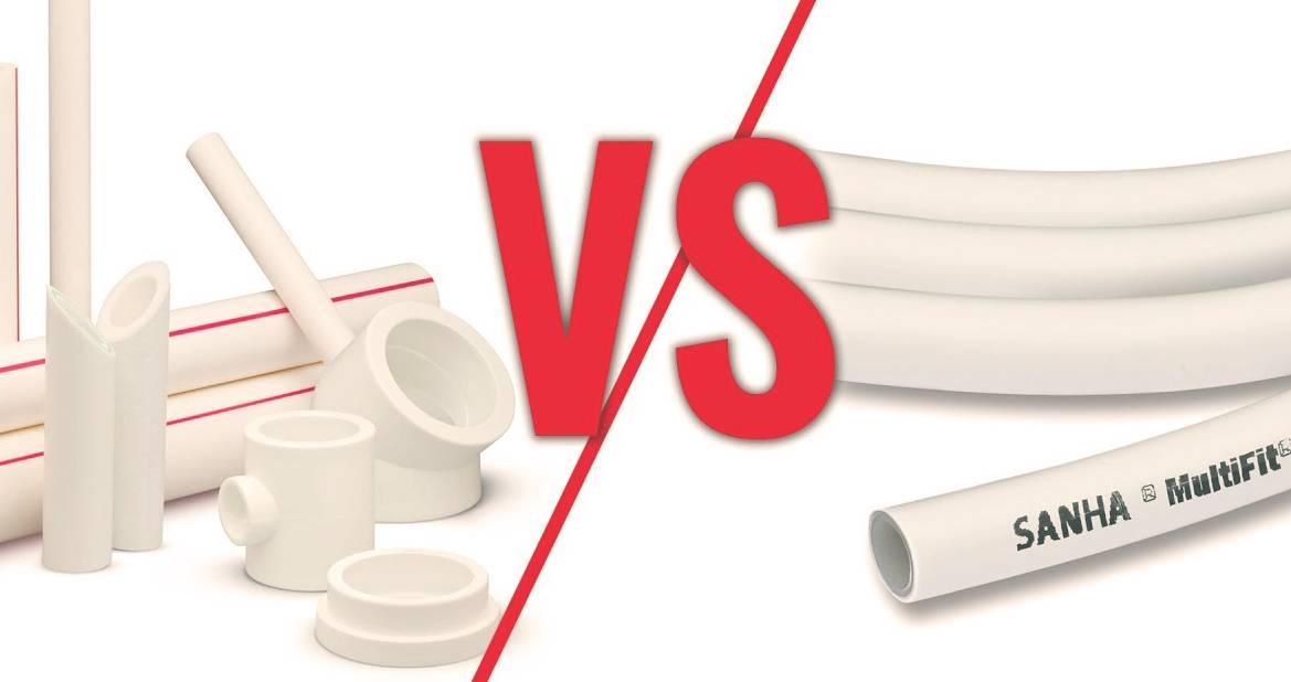 Полипропиленовые или металлопластиковые трубы: какие выбрать