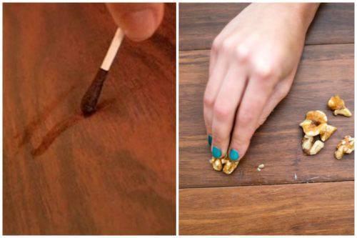 25 профессиональных и народных способов убрать царапины и потертости с мебели