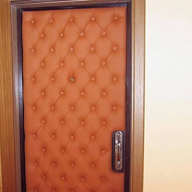 Как утеплить входную деревянную дверь: поэтапная инструкция своими руками, в частном доме | ремонтсами! | информационный портал