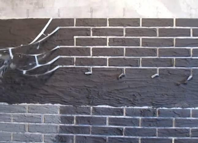 Укладка декоративной кирпичной стены в квартире: отделка кирпичом своими руками