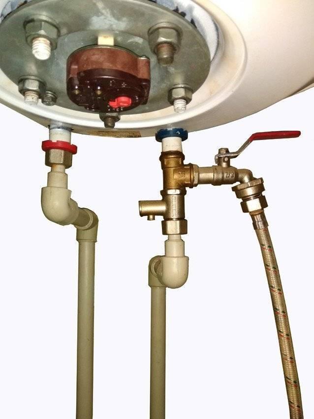 Как слить воду из водонагревателя - способы полного опустошения бака