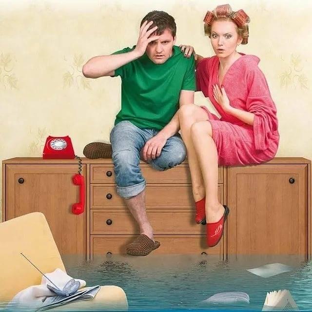 Затопили соседи сверху: что делать и куда обращаться?