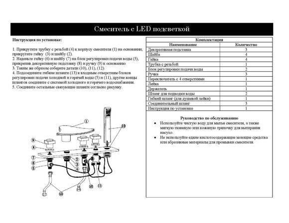 Как установить смеситель на борт ванны: пошаговая инструкция по установке