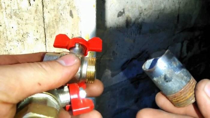 Врезка в трубу - лучшие методы проведения работ своими руками