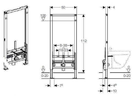 Как установить унитаз подвесной с инсталляцией