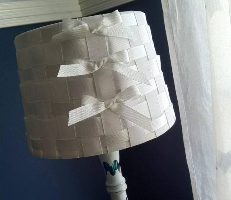 Абажур своими руками: варианты из ткани, бумаги и пластика — 100 идей для вдохновения