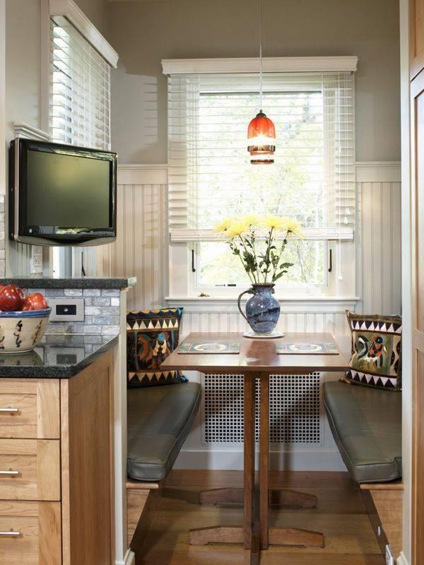Кухонные уголки для маленькой кухни — как выбрать и сочетать? 74 фото +видео!