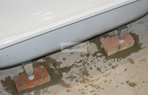 Правильная установка ванной: схемы монтажа + инструкции по украшению (110 фото)