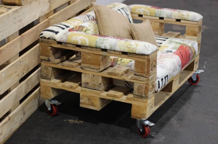 Пошаговое изготовление своими руками мебели из поддонов, фото изделий
