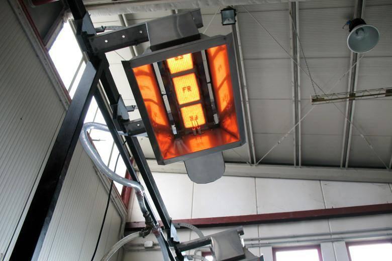 Газовый инфракрасный обогреватель: принцип работы, излучатели промышленные потолочные, с керамической горелкой, для производственных помещений, neoclima, для дачи и дома