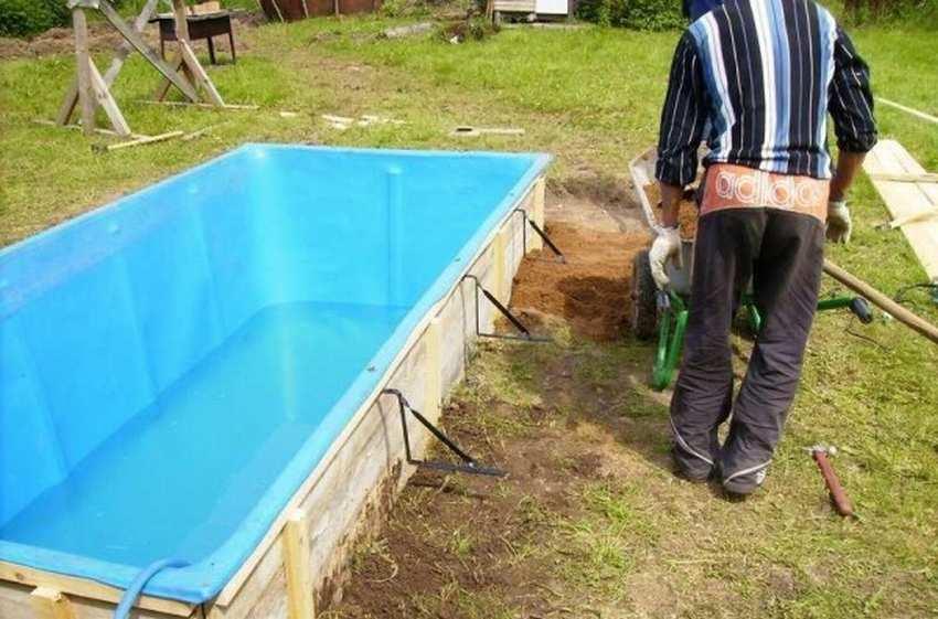 Как правильно установить круглый каркасный бассейн