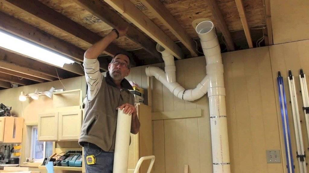 Вентиляция из пластиковых канализационных труб в частном доме: можно ли так делать + нюансы обустройства