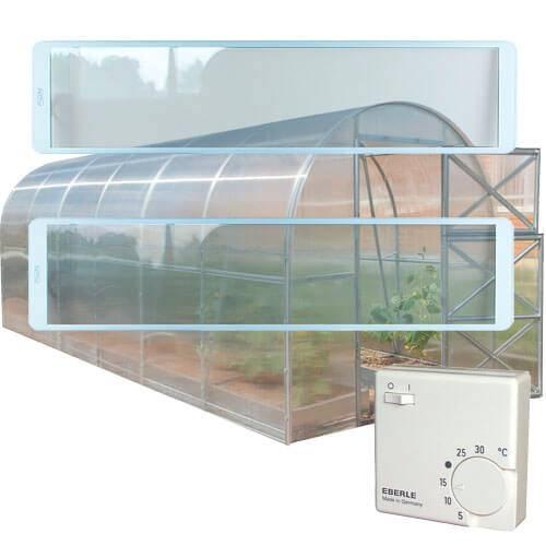 Особенности отопления теплицы инфракрасным обогревателем