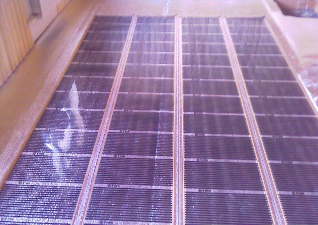 Инфракрасное отопление частного загородного дома или дачи, видео