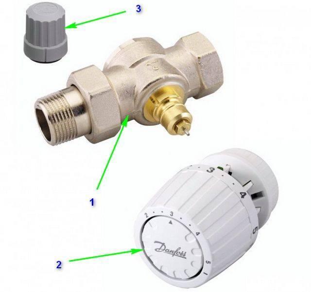 Термостатический клапан для радиатора отопления: принцип работы