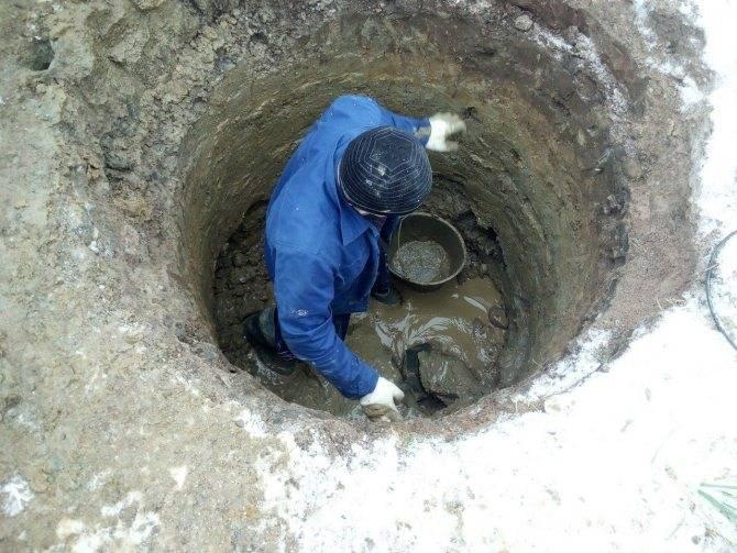 Копка колодцев в московской области от 3800 руб. за кольцо