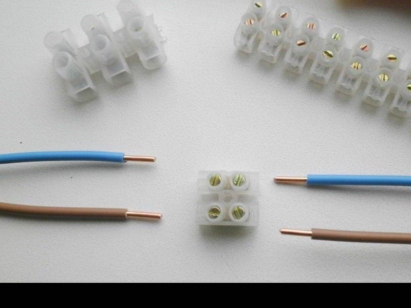 Обзор соединителей для электрических проводов