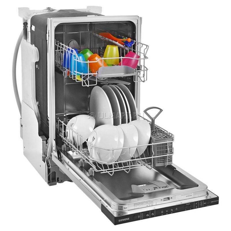 Встраиваемые посудомоечные машины siemens 45 см: рейтинг встраиваемых посудомоек