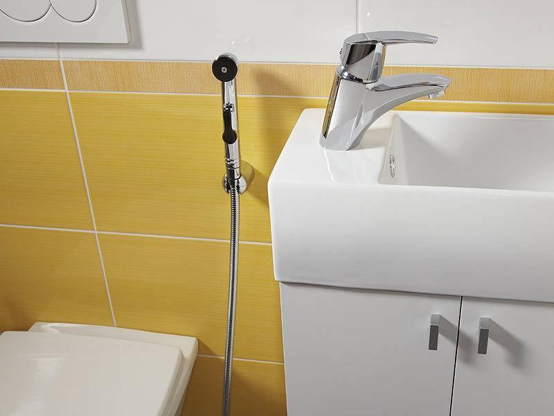Гигиенический душ со смесителем скрытого монтажа: установка своими руками и модели