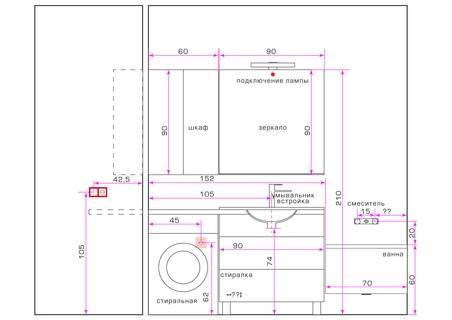Стиральная машина в ванной: обзор вариантов размещения, особенности монтажных работ (125 фото)