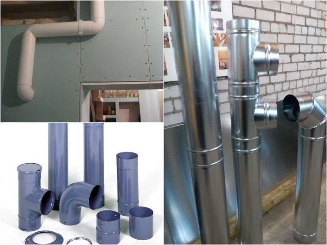 Вентиляция пластиковая — использование пвх-труб для вентиляции
