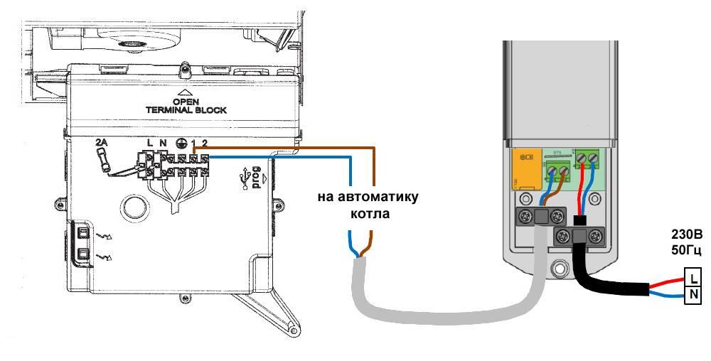 Подключение термостата к газовому котлу: общие принципы, схема монтажа