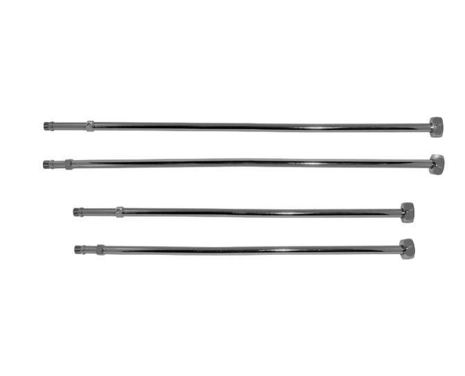 Подводка для смесителя: жёсткая, гибкая и сильфонная — описание каждой и выбор медной трубки