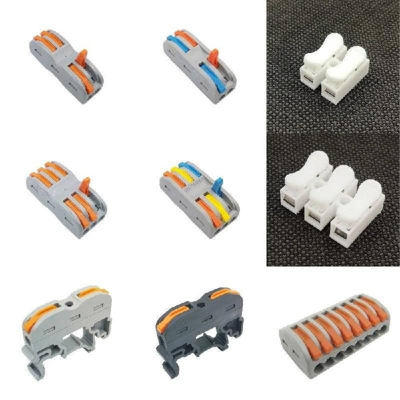 Виды соединения электрических проводов в распаечной коробке