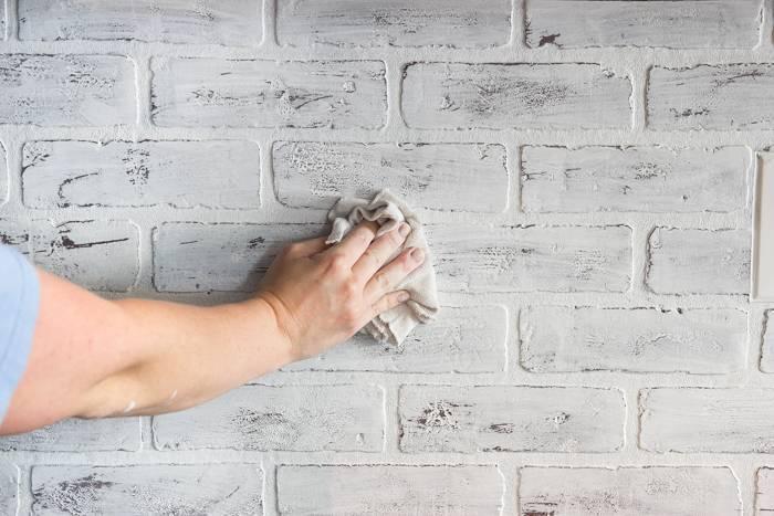 Как сделать имитацию каменной и кирпичной кладки на стене для дома своими руками: советы и идеи- обзор +виде мастер класса