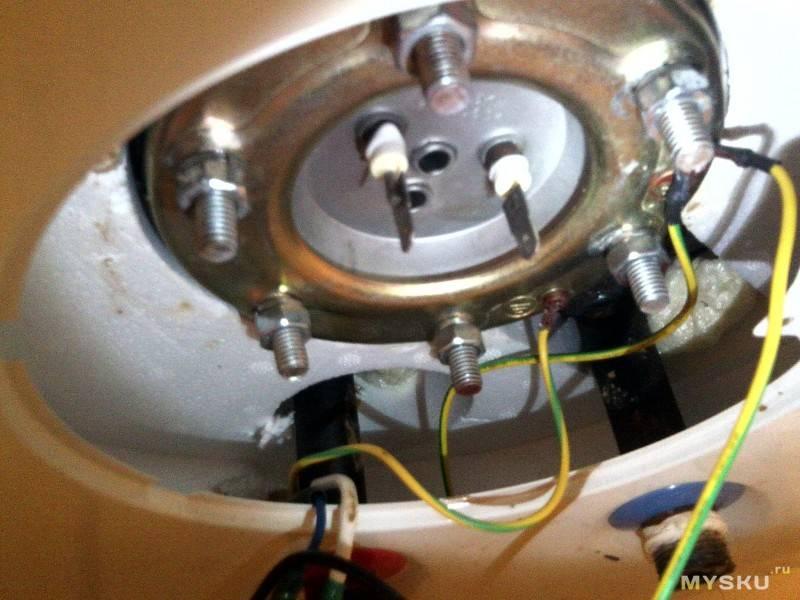 Как выполнить замену тэна водонагревателя аристон
