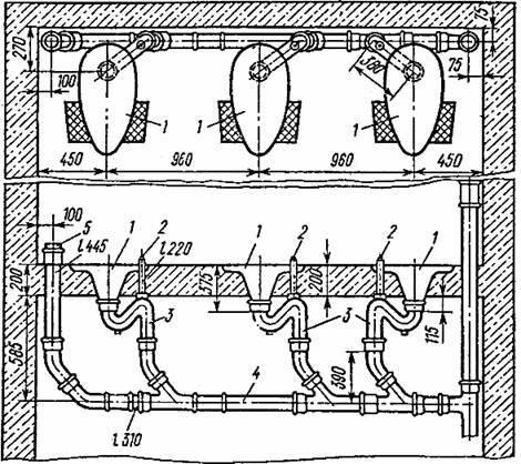 Гидрозатворы для канализации на 110 трубу