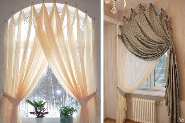 Как сделать нишу для штор в натяжном потолке: 5 способов монтажа скрытого карниза под гардину