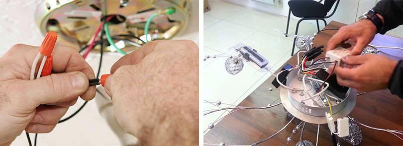 Моргает светодиодная лампа после включения и в выключенном состоянии