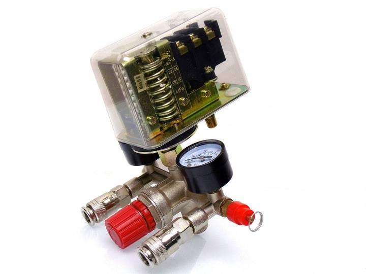 Настройка реле давления воздушного компрессора
