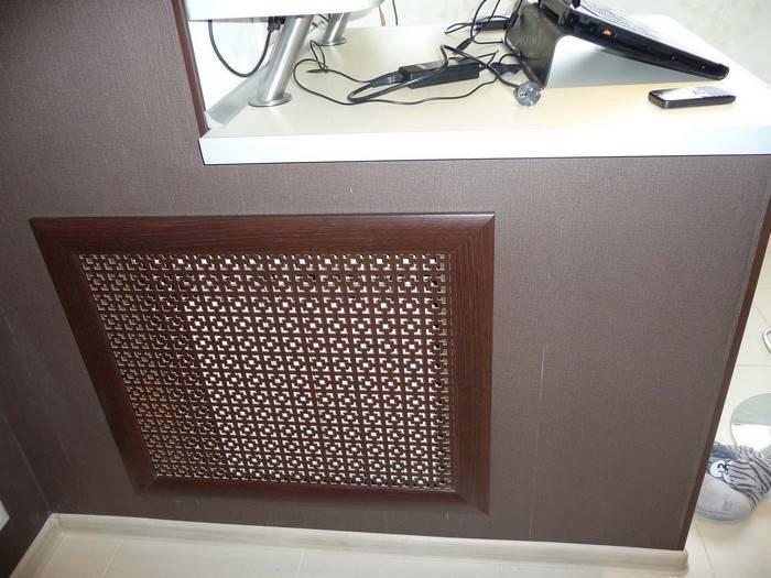 Способы отделки стены за батареей: все нюансы оформления
