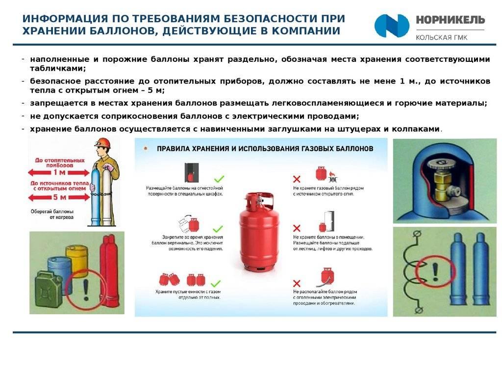 Заправка газовых баллонов: виды газовых смесей, способы заправки